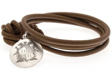 Charity-Armband Farbe: Taupe